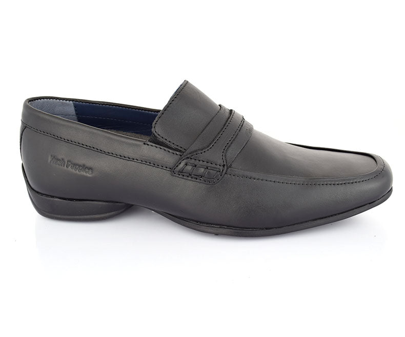 Cardan Interpid- Black Affordable Semi Formals for Men by Hush Puppies