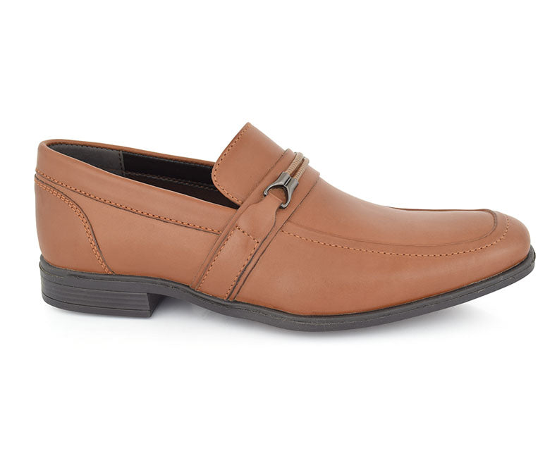 COLE MADDOW - Brown Classic Form-Fitting True Formals for Men By Hush Puppies