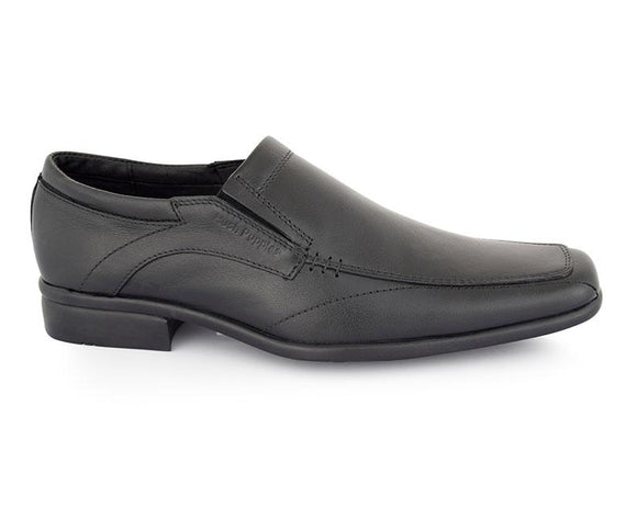 Cristof Shaggy - Black Men Formal Shoes by Hush Puppies