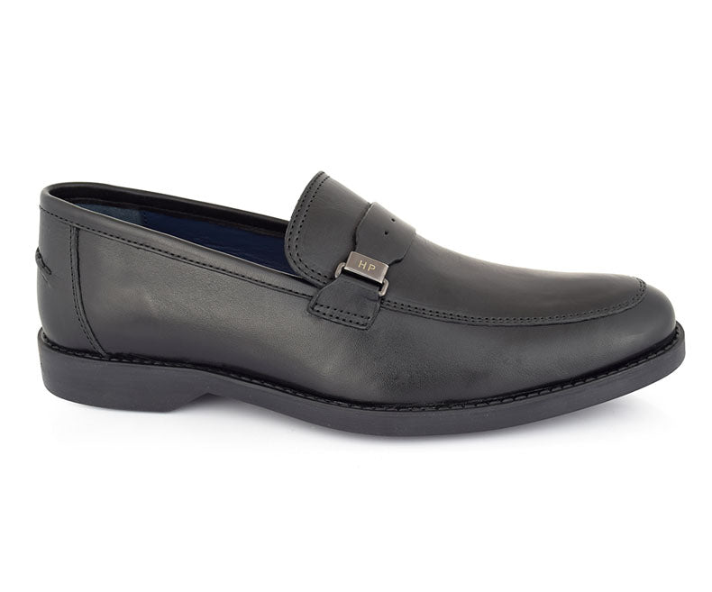 HARMAN LOGAN-Formal Footwear for Men-Black
