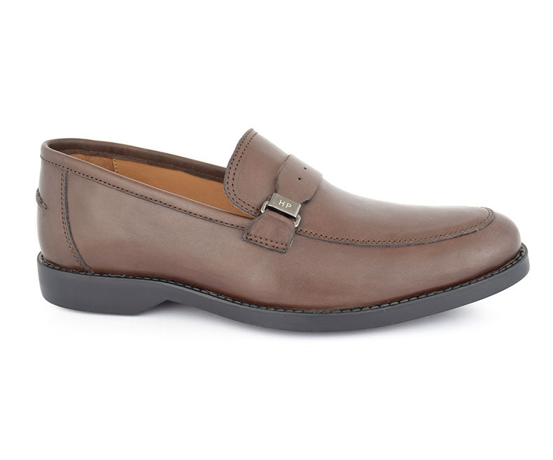 HARMAN LOGAN-Formal Footwear for Men-Brown