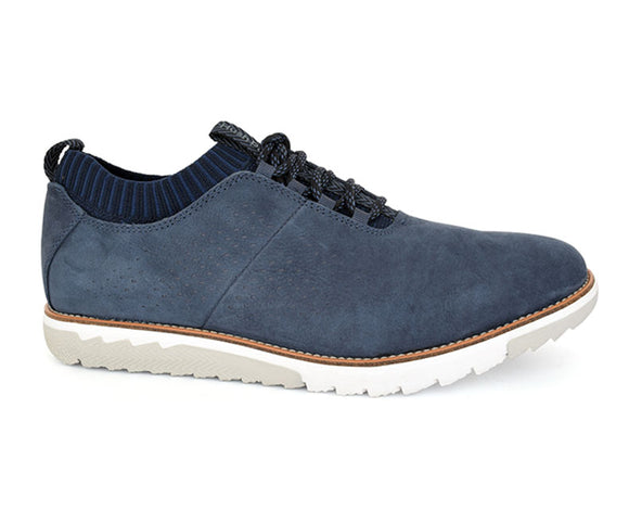 Men's Casual Shoes-Navy