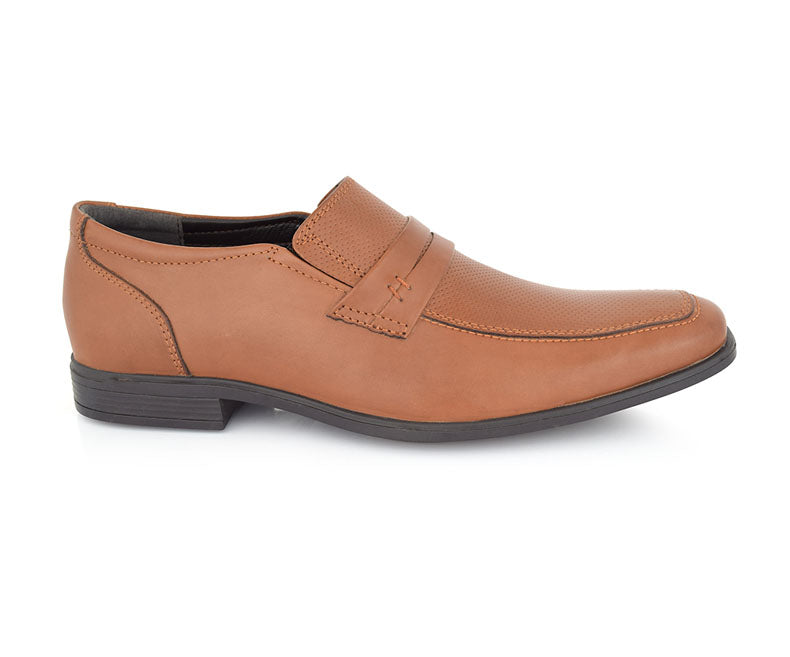 MELVIN MADDOW-Men's Shoes\True Formal-Tan