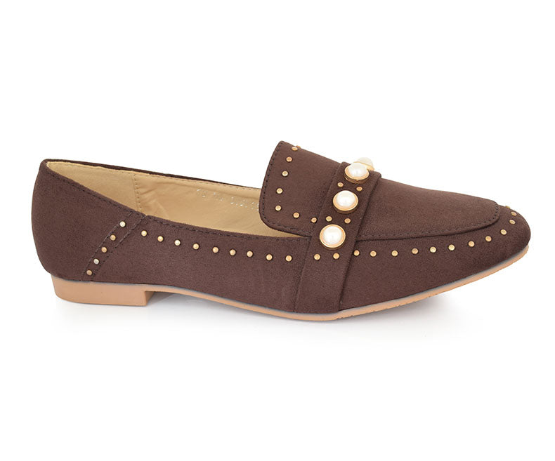 SS-MS-0059-Women's Shoes\Formal\Pumps-Coffee