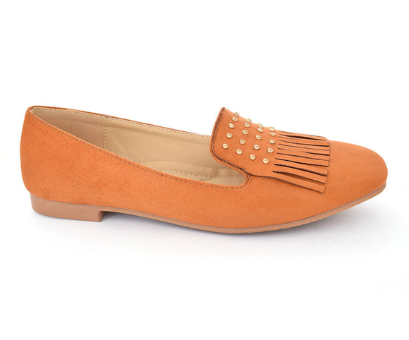 SS-MS-0062-Women's Shoes\Casual\Pumps\Winter wear-Camel