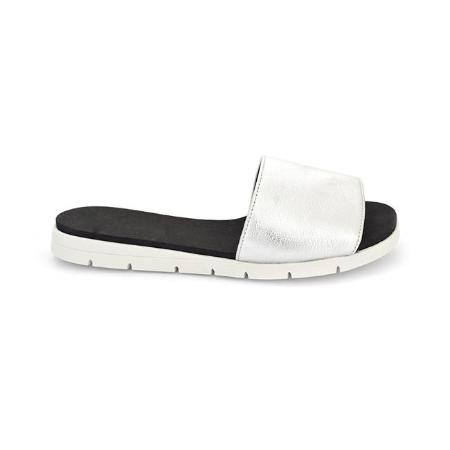 SS-SL-0091 - Comfort Slippers for Women-Sliver