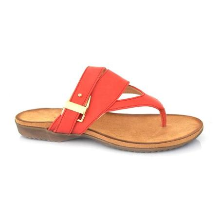 SS-SL-0040 - Slippers for Women-Red