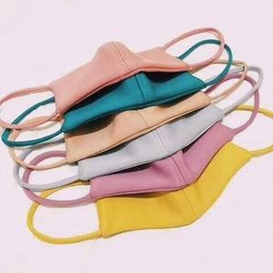 CANDY COLORED NEOPRENE MASKS (MIX COLORS)