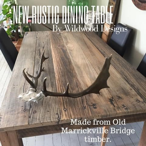 Custom Furniture From Recycled Marrickville Footbridge