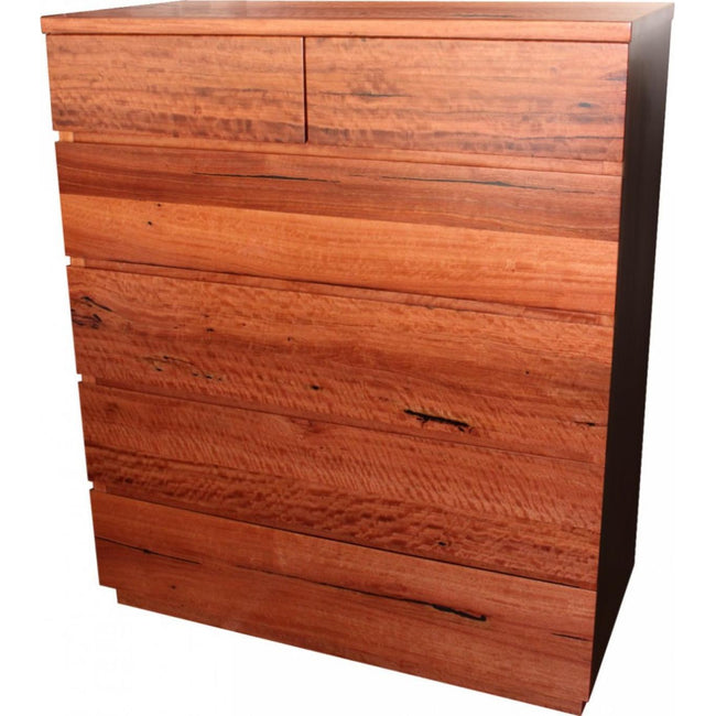 Louise Style - 6 Drawer Tall Boy-drawers-Wildwood Designs Furniture