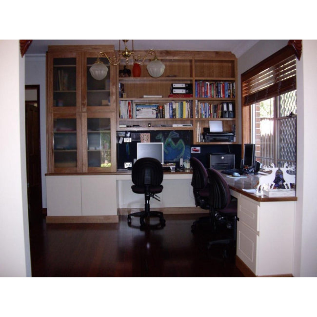 Custom Home Office Work Station-desk-Wildwood Designs Furniture