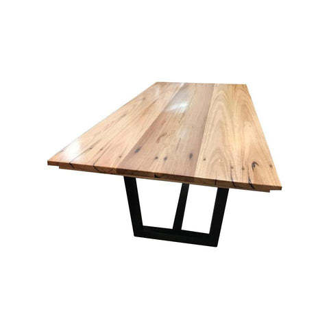 X Leg Dining Table