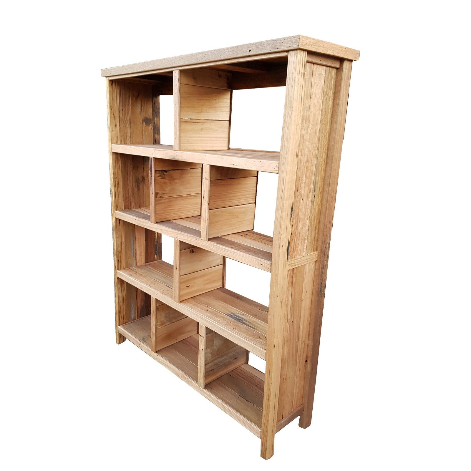 Beach House Cubism bookcase