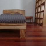 Camphorlaurel Slab Bed-beds-Wildwood Designs Furniture