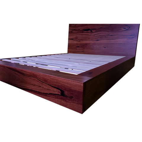 Headboard - Custom Design - Old Growth Jarrah