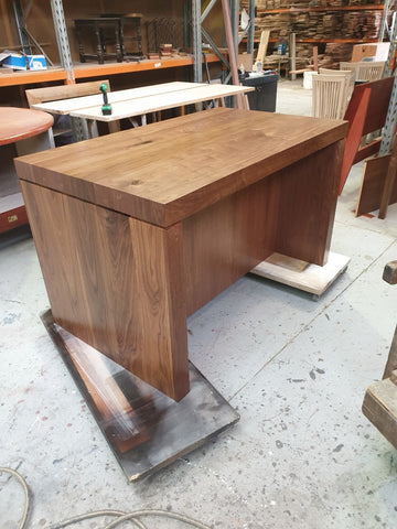 Custom Design - Corner Entertainment Unit in Red Gum