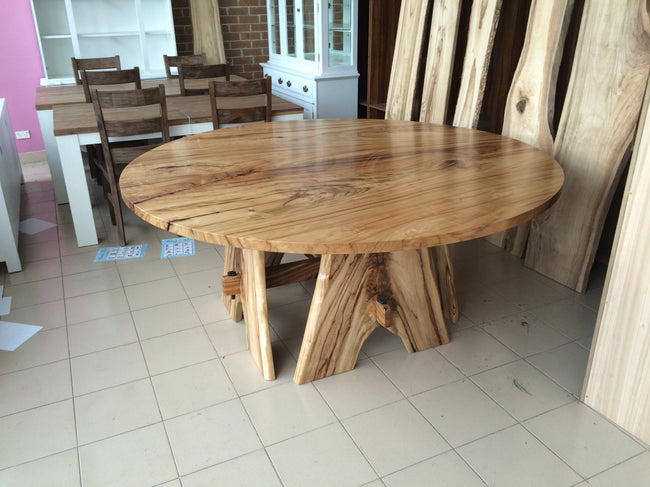 Custom Camphor Laurel Round Table