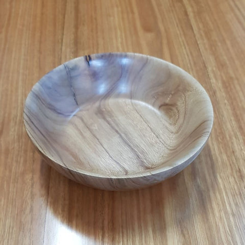 Tableware - Camphor Laurel Thick Shallow Bowl