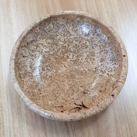 Tableware - Brown Barrel Burl Dish