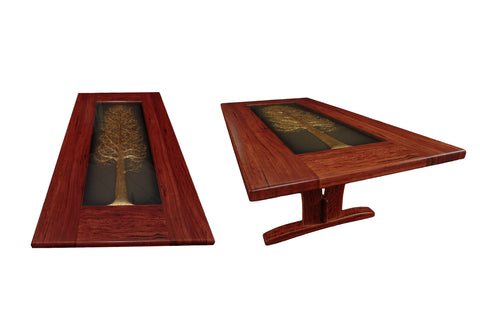 Custom Design - Red Gum Boardroom Table