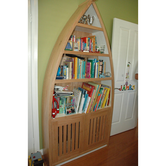 Custom Boat Design Bookcase-bookcase-Wildwood Designs Furniture