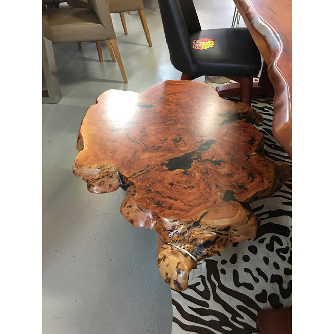 Red Gum Burl Coffee Table-coffee table-Wildwood Designs Furniture