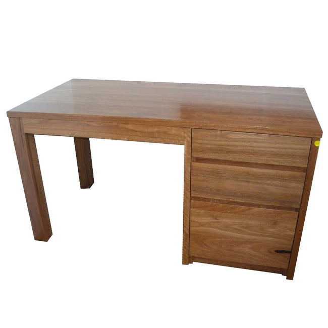 Desk - With Tower - Spotted Gum