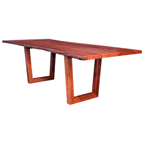 Dining Table - Henly Collection/Floating Steel Base