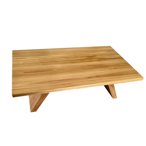 Mixed Hardwood Coffee Table - 750 x 450 x 400h