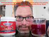 American Natural SuperReds Energy Mix - Full Month Supply