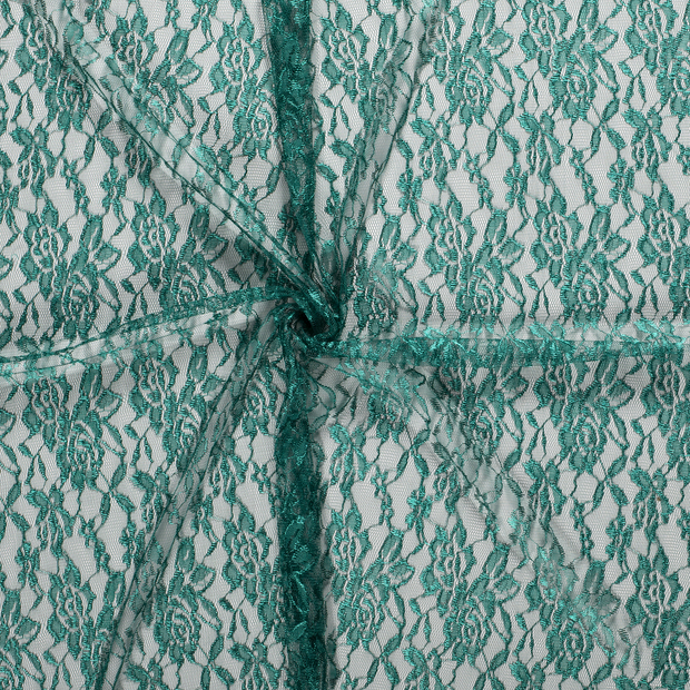 Lace fabric Forest Green