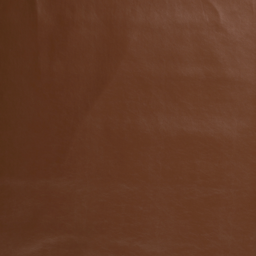 Imitation leather fabric Brown silk matte