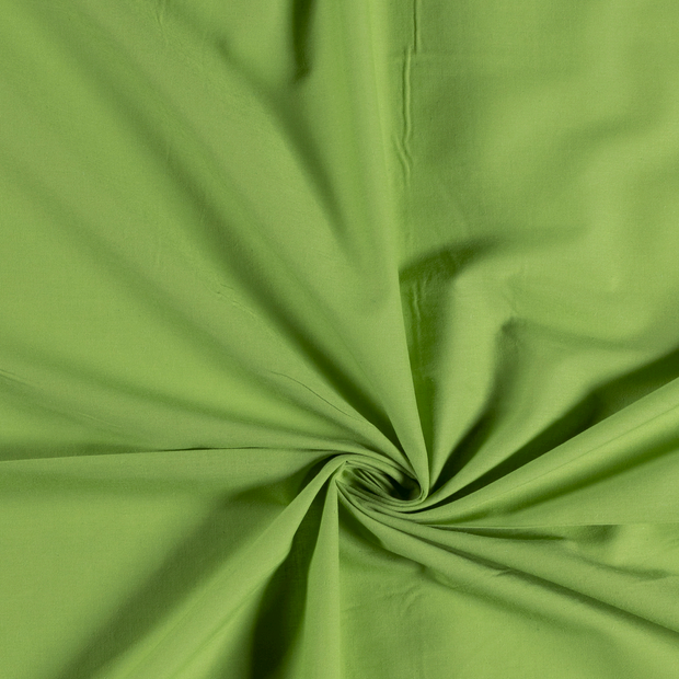 Voile fabric Unicolour Lime Green
