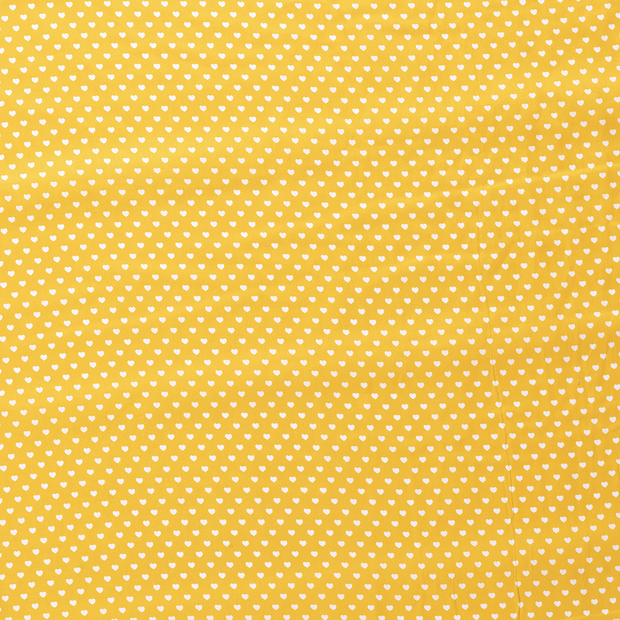 Poplin fabric Yellow soft