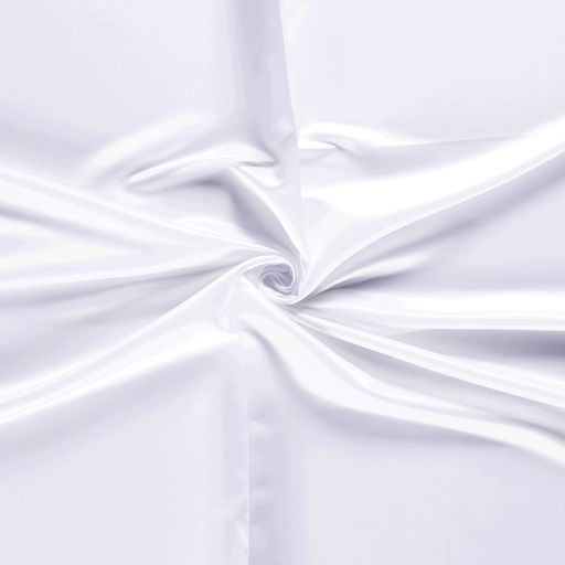 Satin fabric Optical White