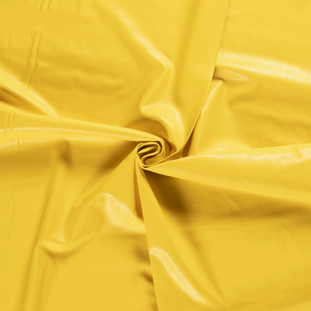 Imitation leather fabric Hard Yellow backed