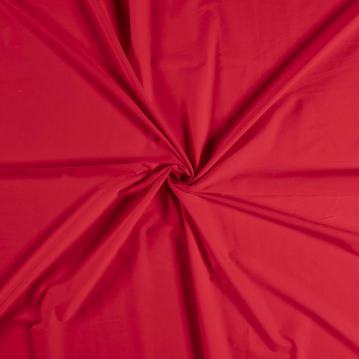 Voile fabric Red