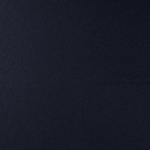Boiled wool fabric Navy matte
