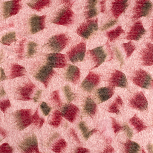 Coat Flannel fabric Light Pink matte