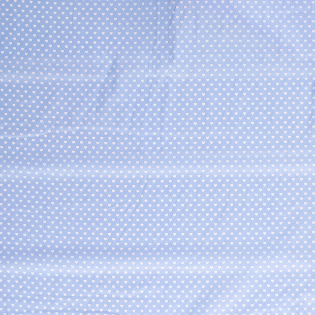 Poplin fabric Baby Blue soft