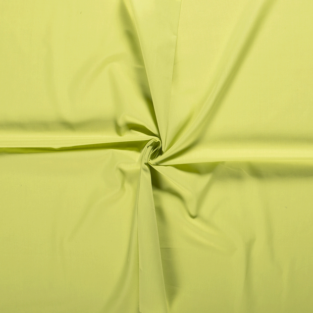 Poplin fabric Lime Green