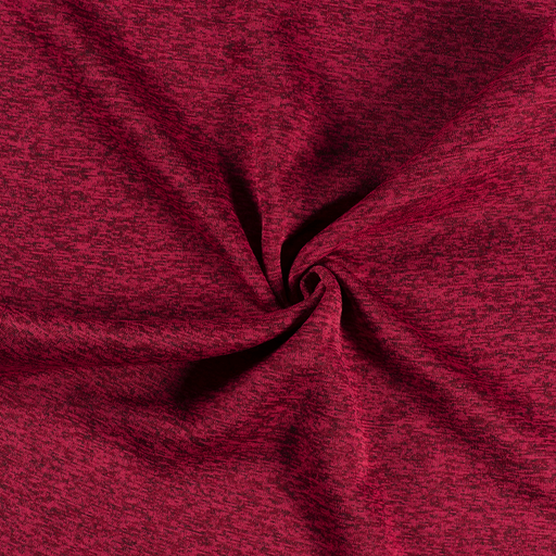 Knitted fabric fabric Red