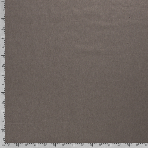 Linen Look fabric Taupe Brown printed