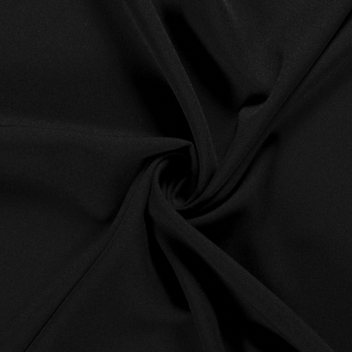 Power Stretch fabric Unicolour Black