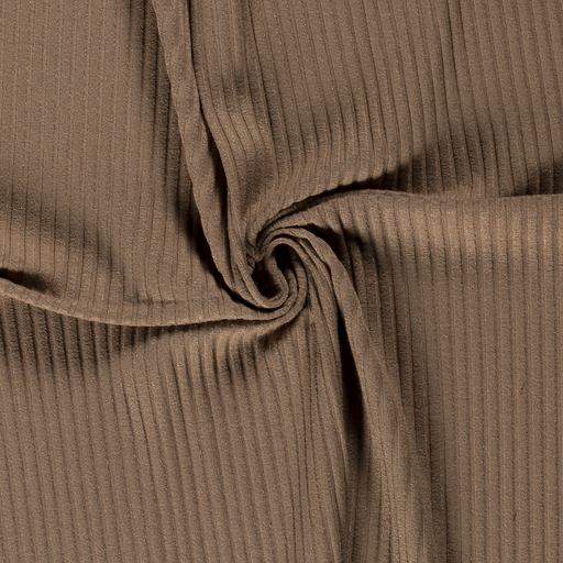 Knitted fabric fabric Unicolour Camel