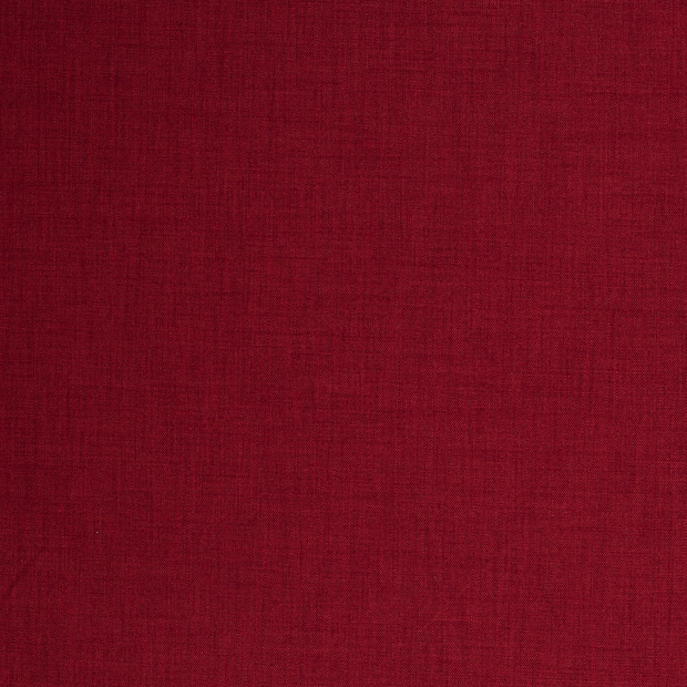 Panama fabric Dark Red matte