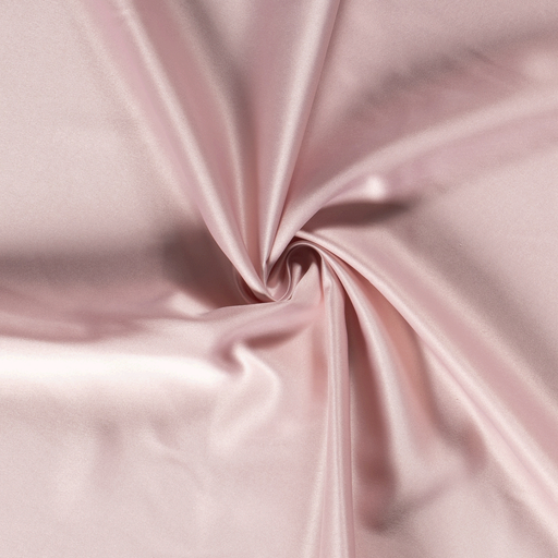 Satin fabric Unicolour Light Pink