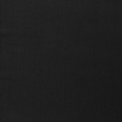 Towelling fabric Black matte