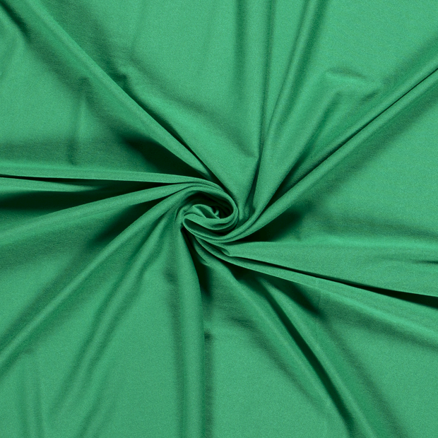 Jersey fabric Unicolour Forest Green