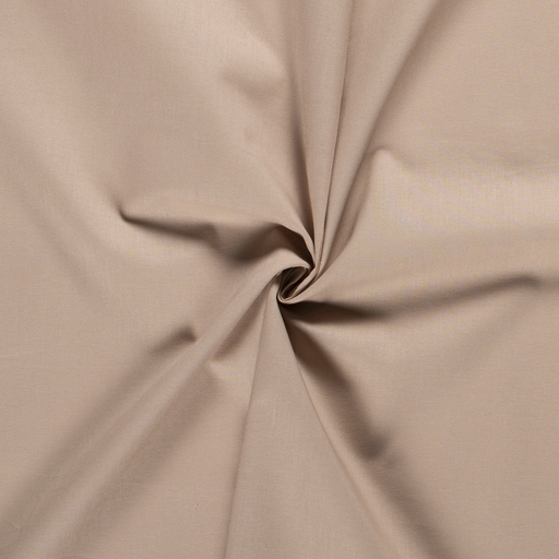 Cretonne fabric Unicolour Beige